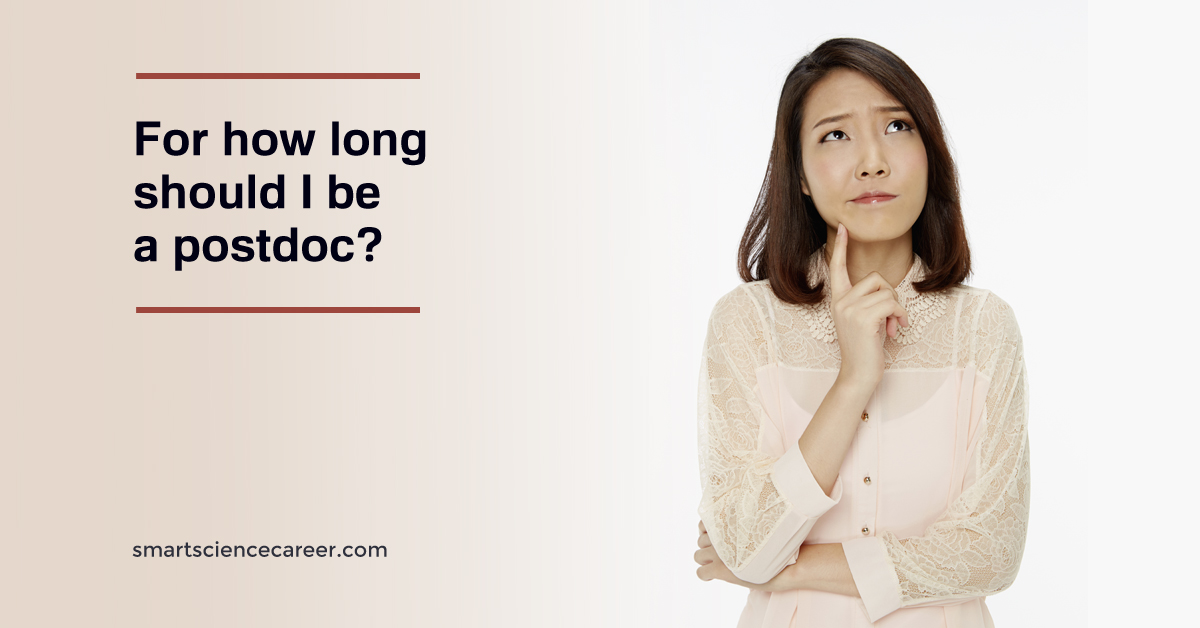 For how long should I be a postdoc?